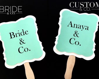 CUSTOM NAME + Co. Sign - Birthdays, Weddings, Bridal Showers, Parties - You choose color