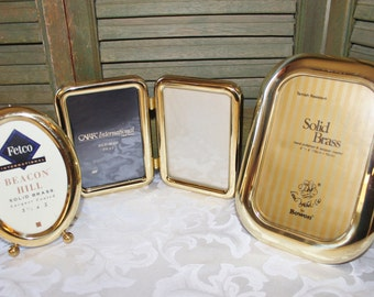 Brass Picture Frame Collection