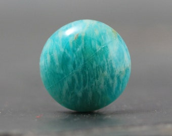 Natural Amazonite Cabochon, Sea Green Semiprecious Stone Healing Crystal Stone of Courage Jewelry Making Supply, Custom Jewelry (CA4368)
