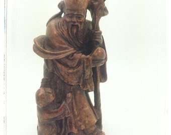 Asian sculpture - wise man or mystic?