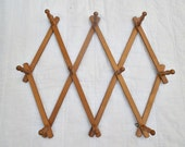 Vintage Wooden Rack Stamped Japan