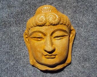 Buddha Statue, Buddha Stone Wall Hanging, Shipping Included