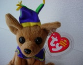 Ty Beanie Baby  , Beanie  Baby Collectible ,  Ty Beanie Dog , Collectible Toy