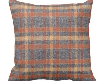 plaid pillows, flannel pillows, pillow covers, couch pillow covers, grey decorative pillows, throw pillows, pillows, plaid pillow covers
