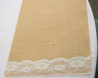 Burlap Placemats, Burlap and Lace Placemats, Rustic Placemats, Wedding Placemats, Burlap and Lace Wedding, Burlap Napkin, Table Decor