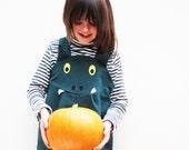 Dragon dungaree kids dress up costume.