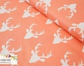NEW - Hello Bear Buck Forest Coral from Art Gallery - IN STOCK