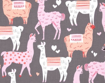 Pink Packmates Alpacas from Michael Miller by Sew Fun Studios