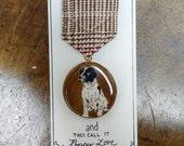 Custom Pet Portrait Merit Badge