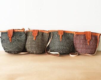 Sisal + Yarn Bucket Tote