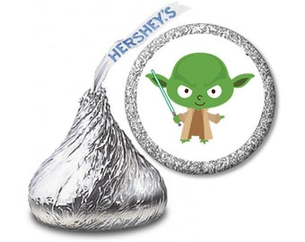 Hershey Kiss Stickers star wars/star wars stickers/candy stickers/star wars candy stickers/Hershey Kisses stickers/216 candy stickers