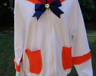 SALE: Original hoodie inspired by Sailor Venus ready to ship