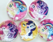 No-edge Gtube Pads. Made with My little Pony Fabric