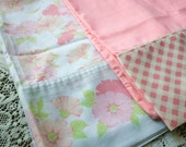 Pair of Vintage Pink Pillowcases