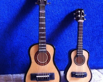 Accoustal Guitar Magnet Musical Instrument,2.5 or 4 Inches, No Sound, Just The Look