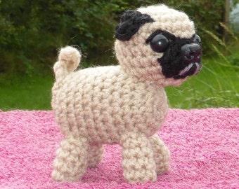 PUG crochet amigurumi