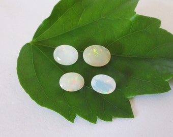 Ethiopian  Faceted Opal Lot All Ovals 5.45cts