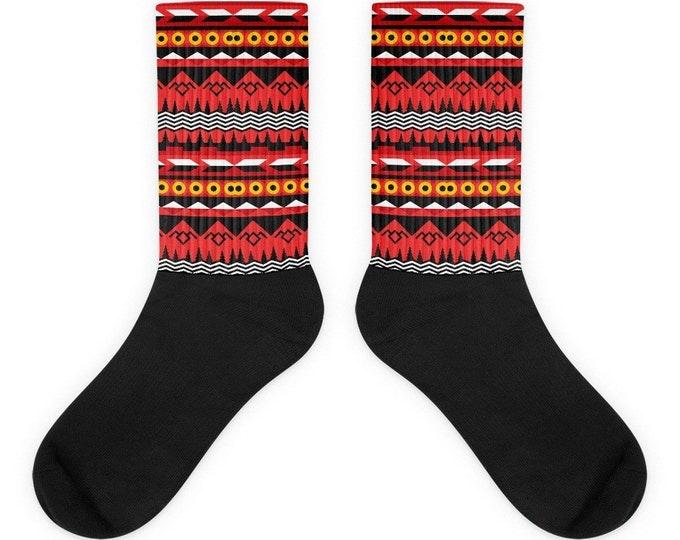 Twin Peaks Patterned Socks