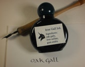 Oak Gall Black Ink Iron Gall Ink From Historical Recipes