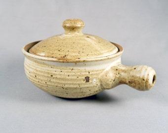 Excellent Taeko Tanaka Handled Casserole Pot with Lid, Mackenzie School