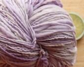Iced Lavender - Handspun Yarn Wool Merino DK Weight