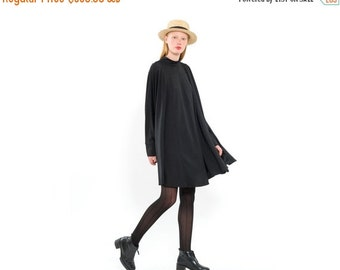 Flowy Japanese Style, Oversize Party Dress, Modern Cocktail Dress, Casual Flapper Style Dress for day or night, boxy silhouette