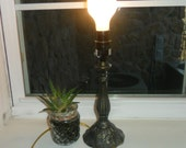 Small Vintage Brass Desk/Table Lamp
