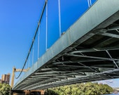 "Travel Photography, ""Hennepin Avenue Bridge"", Minneapolis, Architectural Photo, Customizable Sizes Upon Request"