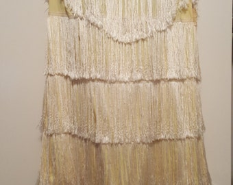1960's Flapper Dress in the style of the 1920's