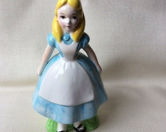 Vintage Alice in Wonderland Figurine