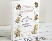 Bring a Book Baby Girl Shower Guest Book - Wishes for Baby, Advice for Parents - Custom Beatrix Potter Storybook Baby Shower Guestbook