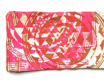 Eye pillow Cover - Organic Cotton and Bamboo