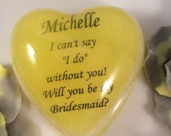 Bridesmaids Soap Favors / Bridal Favors / Wedding Favors