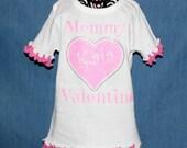 Mommy's Valentine Shirt, Valentine Shirt Girls, Pink Valentine Shirt Girl