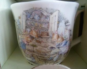 Brambly Hedge Royal Doulton Dining by The Sea Mug / Beaker - 1st quality- Boxed