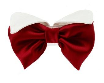 Dog Cat Tuxedo Collar and Bow Tie