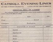 Antique Paper: Catskill &...
