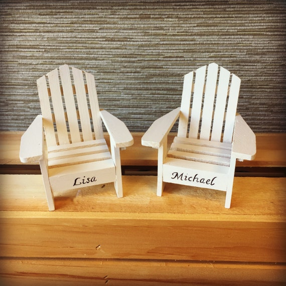 Adirondack Beach Chair Wedding Cake Toppers Mr And Mrs