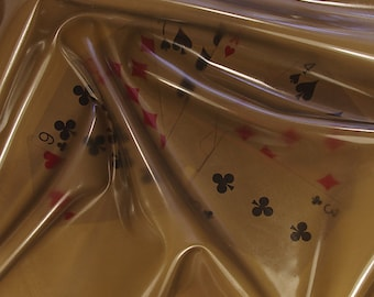 Latex sheet Translucent smoky black 0,4mm thickness - 50cm x 100cm (more available)