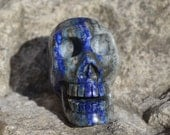 Beautiful lapis skull for mindfullness  KS026