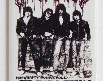 The Ramones Concert Poster Fridge Magnet