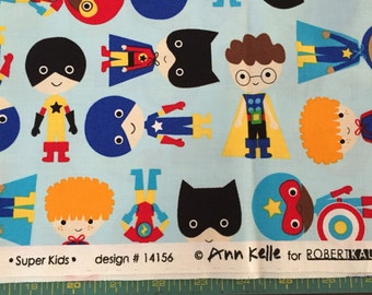 1 1/4 Yard of Ann Kelle fabric in Super Kids