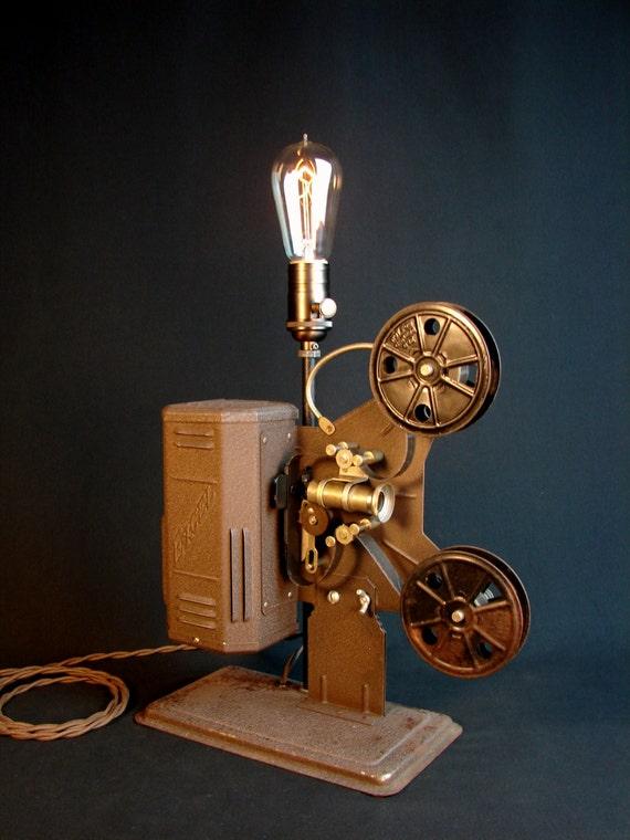 Vintage  16mm Film Projector Lamp
