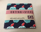 Cotton + Steel - Picnic by Melody Miller - Charm Pack