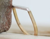 Two-tone Bar Ring