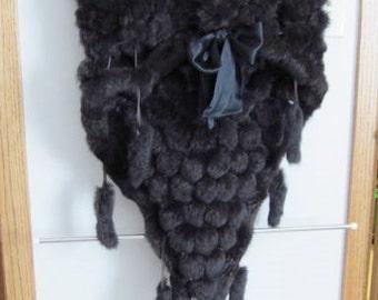 Vintage Genuine Fur Capelet