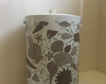 Retro Seashell Stotter Ice Bucket Cooler