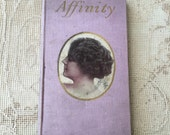 "Reserved: Lovely Antique Poetry Book  ""Affinity"" by Maurine Hathaway"