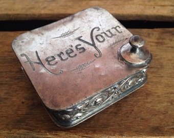 Vintage Stud Box - 'Here's Your'