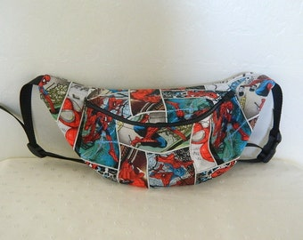 Spider-Man Fanny Pack - Hip Bag - Children thru Adult Sizes